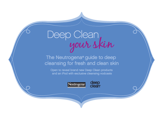 Neutrogena (Deep clean media mailer)