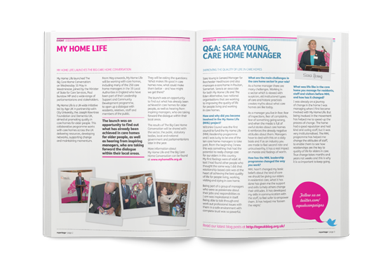 Age UK  Reportage