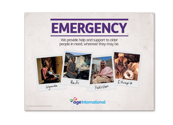 Age International <br />Emergency fundraising pack